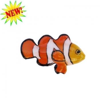 Pesce Pagliaccio ceramica cm 9