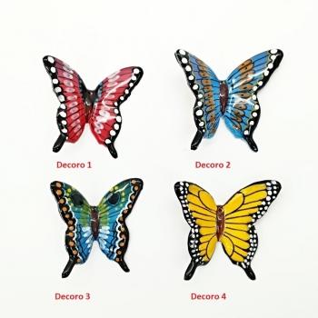 Farfalla in ceramica Piccola cm 7