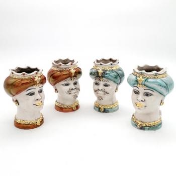 Caltagirone Ceramic Moor's Head