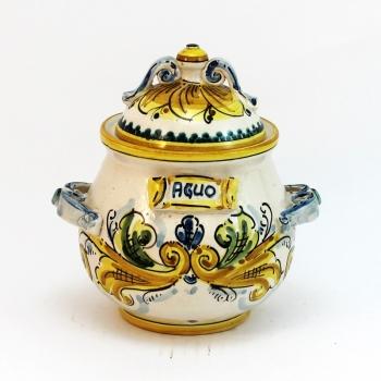 Porta aglio in ceramica