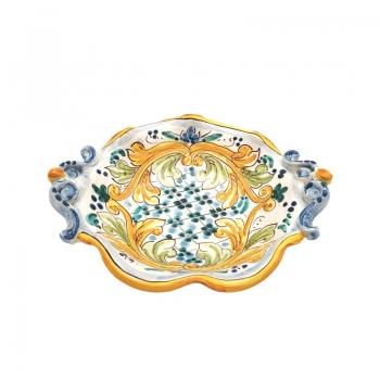 Ciotola in ceramica smerlata cm 25
