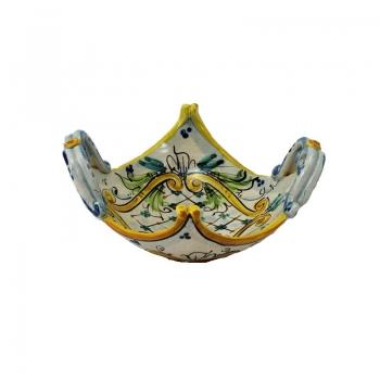 Centrotavola ceramica fazzoletto