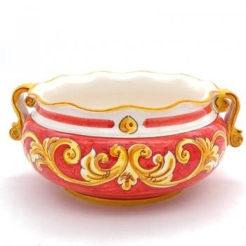 Ciotola in ceramica smerlata tonda cm 30 RO