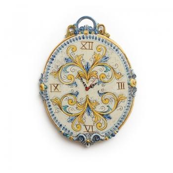 Orologio ceramica Grande Ovale