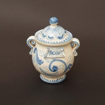Porta Aglio in ceramica di Caltagrione