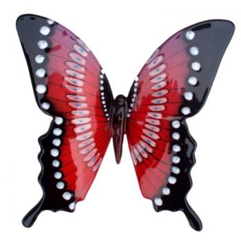 Farfalla in ceramica Grande cm 13 Ro