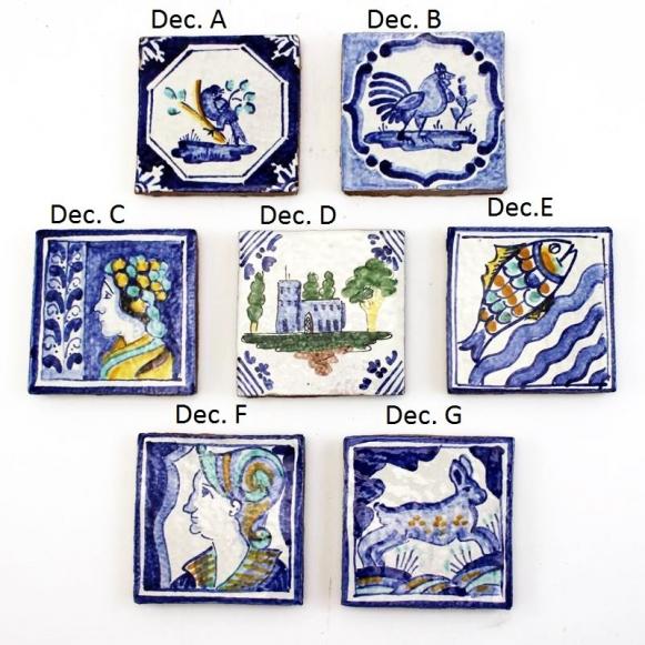 Caltagirone Sicilian Ceramic Tiles