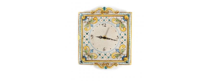 Prezzi orologi da parete in ceramica di Caltagirone - Prezzi scontati