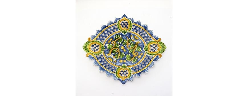 Vendita centrotavola in ceramica di Caltagirone - Pagamenti protetti