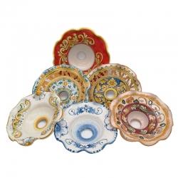 Vendita Coppe lampadari in ceramica Caltagirone - Promozioni ed offerte