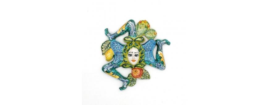 Un vasto assortimento di oggetti in Ceramiche Caltagirone - Paga Paypal