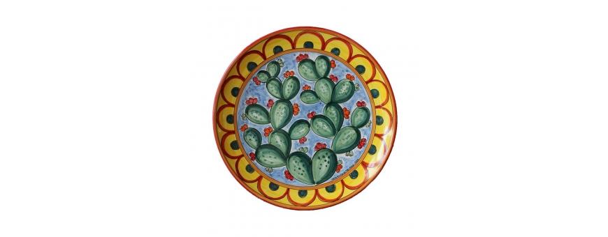 Piatti In Ceramica Prezzi.Prezzi Bassi Piatti In Ceramiche Caltagirone Vendita Online